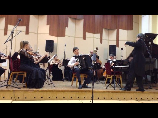 Юрий Гаврилов Скорый поезд исполняют Евгений Смоленцев и Камерный оркестр BACH