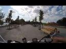 Прогулка на велосипеде по набережной Дуная, Измаил 2017