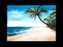 White beach in Watercolors Painting Demonstration