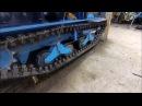 Самодельный мини-трактор и смещённый центр тяжести.