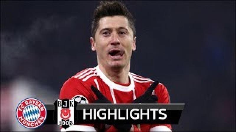 Bayern Munich vs Besiktas 5-0 - All Goals Extended Highlights - UCL 20/02/2018 HD