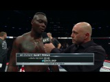 UFC 217 Ovince Saint Preux Octagon Interview