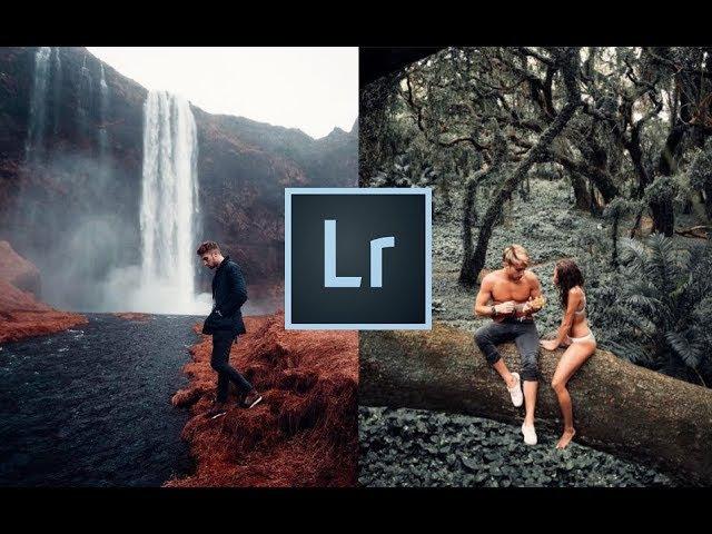 How to Edit Like Sam Kolder in Lightroom for Instagram, Orange Teal Luts