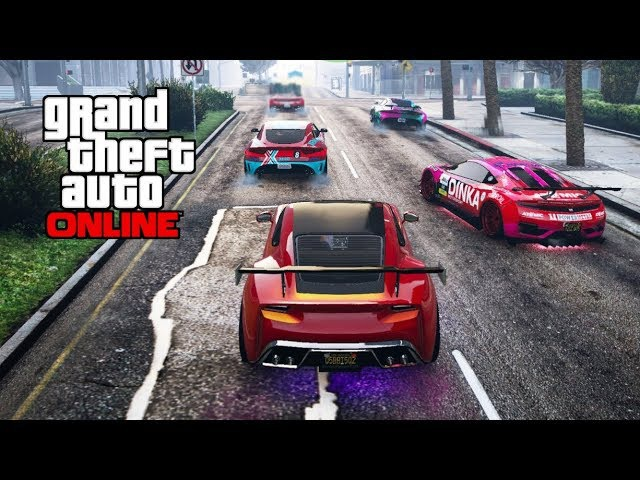 Гонки с АСами GTA 5 online попробуй финишируй Need for Speed отдыхает NODO