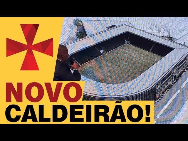 Julio Brant apresenta projeto para reforma de São Januário.