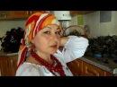 Індійська хустка з мандалами до української вишиванки