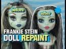 Monster High Frankie Stein Doll Repaint No 1