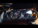 BMW E39 DIY собираем фары после реставрации отражателей Впереди установка на машину