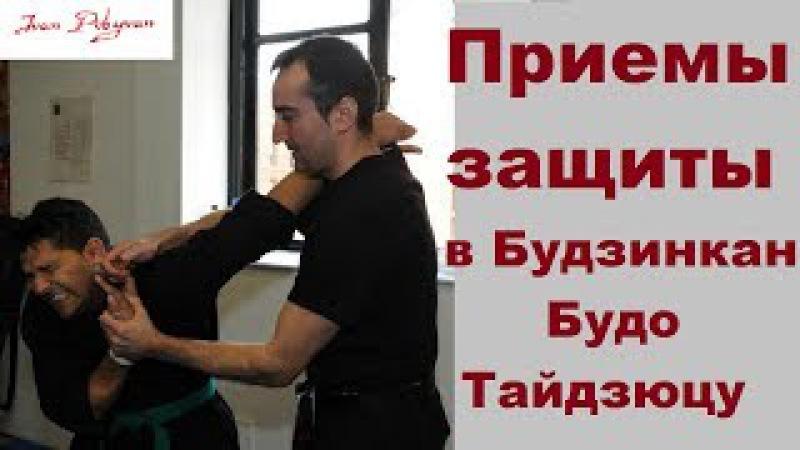 Приемы самозащиты в Будзинкан. Техника боя / Defence in Bujinkan