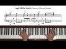 Light of the Seven Game of Thrones Season 6 Piano Tutorial