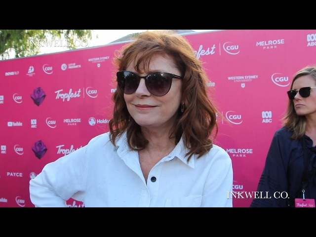TROPFEST 2018 INTERVIEWS WITH SUSAN SARANDON, RACHEL GRIFFITHS JOHN HARLAN KIM | SYDNEY