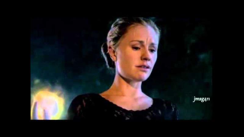 TRUE BLOOD S07E10 Finale Bill Sookie - Final scenes together