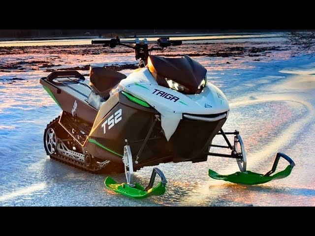 2019 Taiga TS2 | First Electric Snowmobile In The World | Specs Price