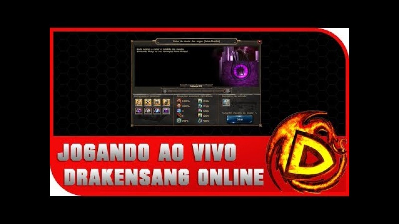 [DSO] Drakensang Online - Rank PVE Solo - Q5 (Live stream)