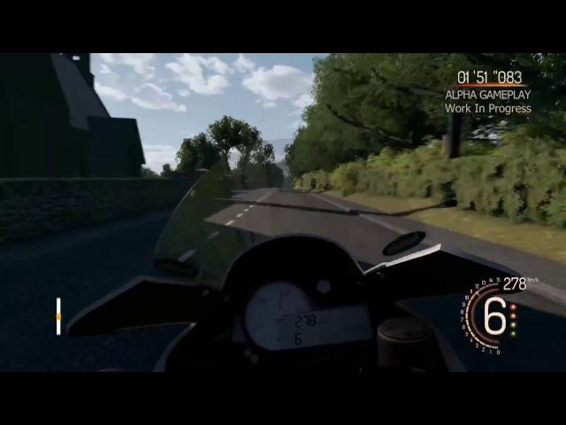TT Isle of Man: Ride on the Edge | On board | Videojuego Tourist Trophy