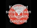 Hootenanny Singers Gabrielle Finnish
