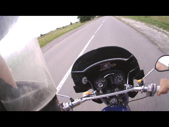 Максимальная скорость Минск 125