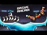 Drive Ahead БЕЗУМНЫЕ ЗИМНИЕ ЗАДАНИЯ и НОВЫЕ ТАЧКИ Мульт игра для детей про БИТВУ МУЛЬ ...