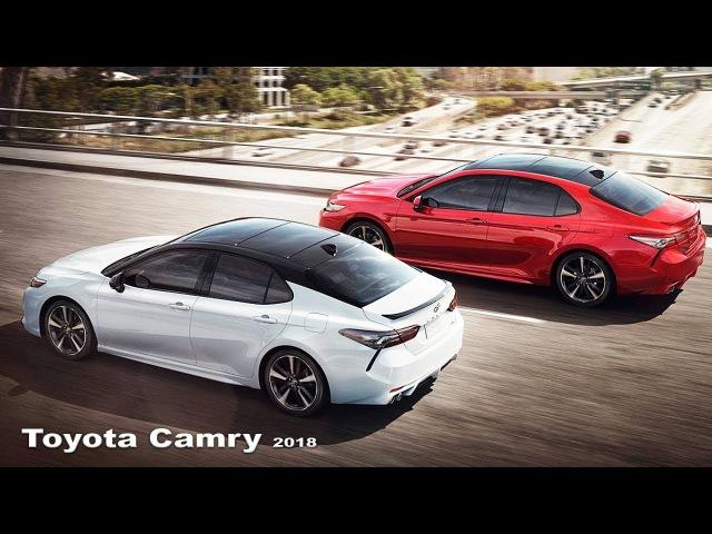 Toyota Camry 2018 - Interior and exterior   NEW Toyota Camry