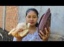 Awesome cooking soup chicken with Banana Flower recipe - Cook Chicken Recipes - Village Food Factory