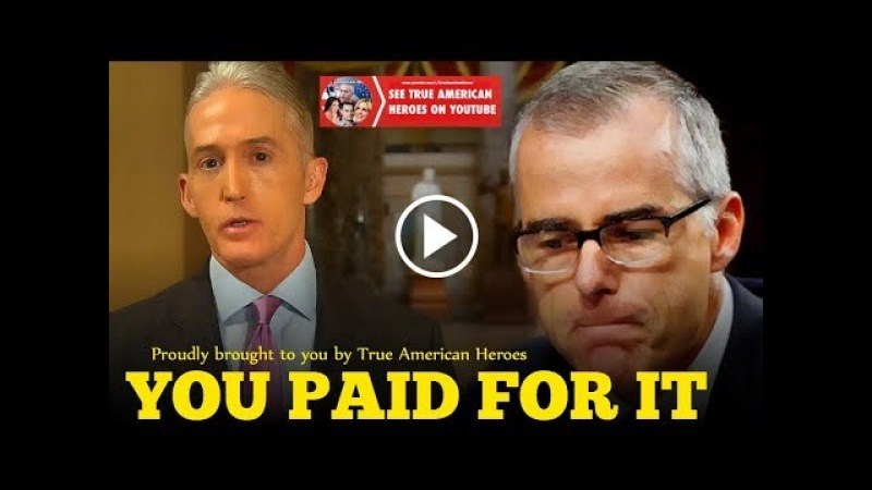 Massive News Out Of The FBI – Trey Gowdy Has Finally Done It
