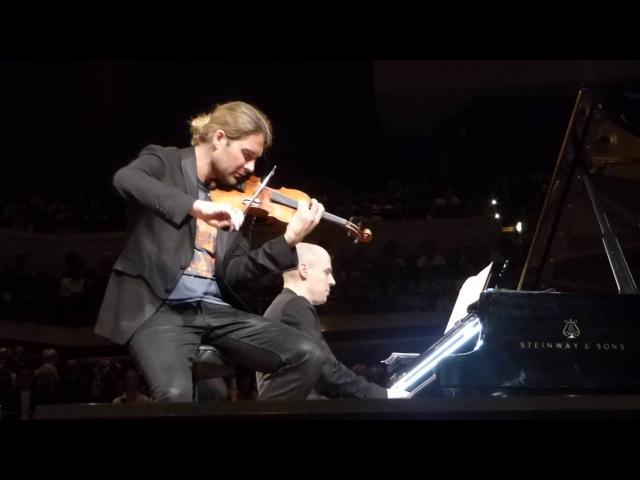 David Garrett Julien Quentin - 16.05.2016 - Philharmonie Berlin