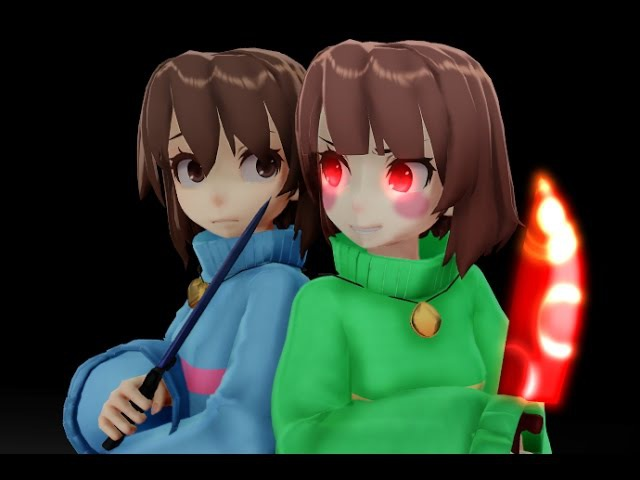 [MMD X UNDERTALE] Stronger Than You Frisk Ver.