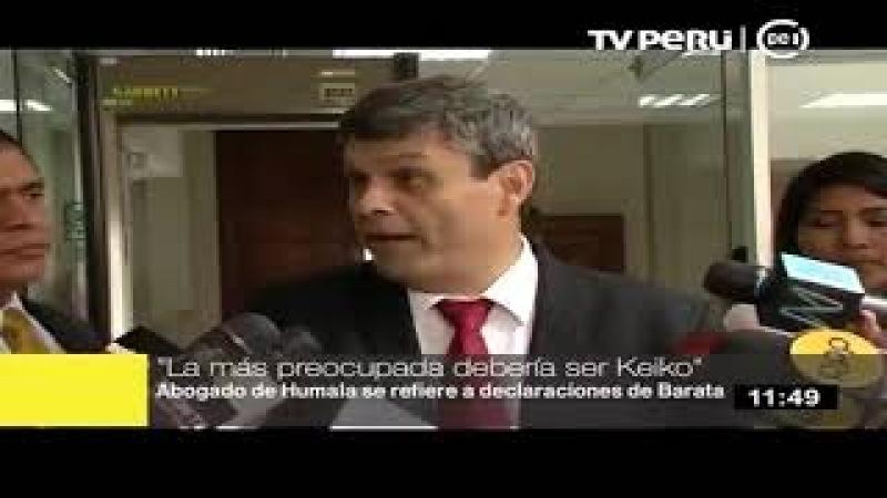 SANTIAGO GASTAÑADUI SEÑALÓ QUE KEIKO FUJIMORI DEBE ESTAR PREOCUPADA POR DECLARACIONES DE BARATA