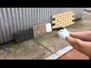 Тест на ударопрочность ПОЛИМЕРПЕСЧАНЫХ Фасадные и цокольных панелей Tetto в сравнении с сайдингом