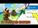 THIS SERVER GIVES OUT FREE ROBUX NO PASSWORD REQUIRED November December 2017 Roblox
