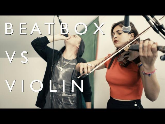 BEATBOX vs VIOLIN THePETEBOX Yasmine Azaiez - Wishing With You