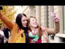 Реклама Милка Баблз Особенная корова в городе
