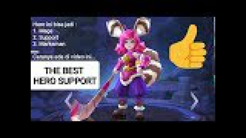 NANA PUSH RANKED - THE BEST SUPPORT HERO - MOBILE LEGENDS
