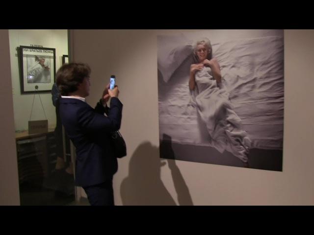 Анджелина Джоли и Мэрилин Монро в постели: выставка голливудского фотографа в М ...