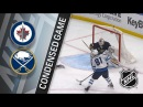 Winnipeg Jets vs Buffalo Sabres – Jan. 09, 2018 Game Highlights NHL 2017/18. Обзор матча