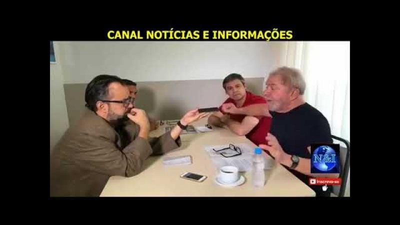 """🔴 🔵 """"ESTOU PRONTO PRA SER PRESO E NASCI PARA VIVER 120 ANOS"""" diz Lula em ENTREVISTA AO GRUPO FOLHA"""