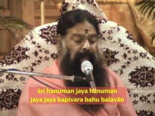 Sri Hanuman Jai Hanuman bhajan by Sri Ganapathy Sachchidananda Swamij
