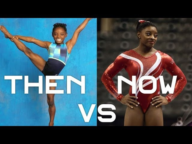 Simone Biles then (2010) vs now (20162017) | Gymnastics