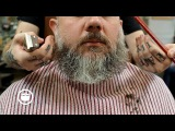 How to Shape a Wild Beard and Style Professional Haircut