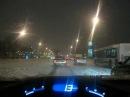 Виннипег дорога через город зимой Winnipeg CBC radio