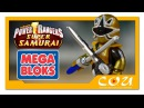 Видео обзор | Power Rangers Super Samurai | Могучие Рейнджеры Супер Самураи | MEGA BLOKS | 5742