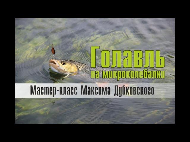 Ловля голавля на микроколебалки. Мастер-класс Максима Дубковского