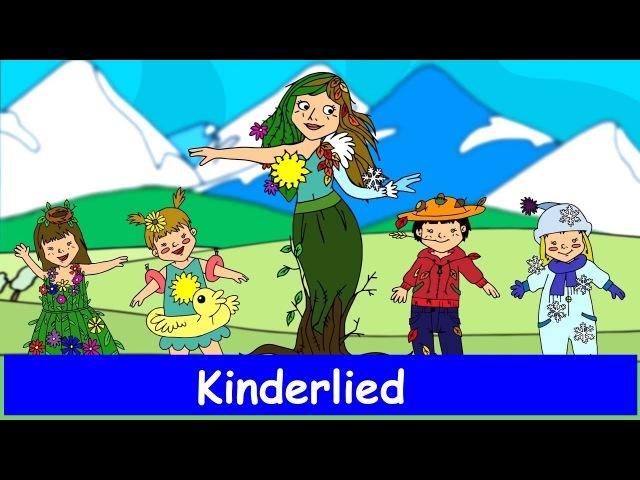Es war eine Mutter - Kinderlied - Sing mit YleeKids Deutsch