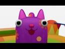 Деревяшки - Батут - Серия 6 - Новые развивающие мультфильмы для самых маленьких