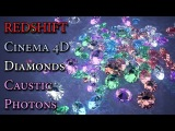 Cinema 4D Tutorial Redshift Render Diamond Caustic Photons
