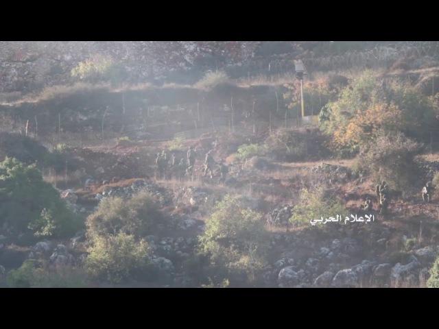 18 израильских солдат проходят технический забор на границе между Ливаном и оккупированной Палестиной
