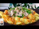Вкуснейший Обед На Большую Семью Картофель с Грибами и Печенкой Lunch Ideas Ольга Матвей
