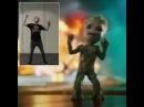 James Gunn Motion Capture Baby Groot's Dance Moves
