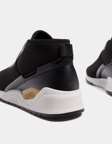 Мужские спортивные ботинки из высокотехнологичной ткани