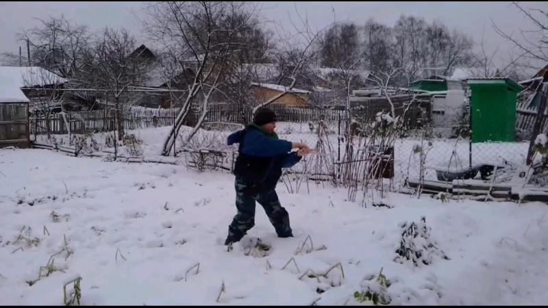 тренировка фехтования описание в моём видео